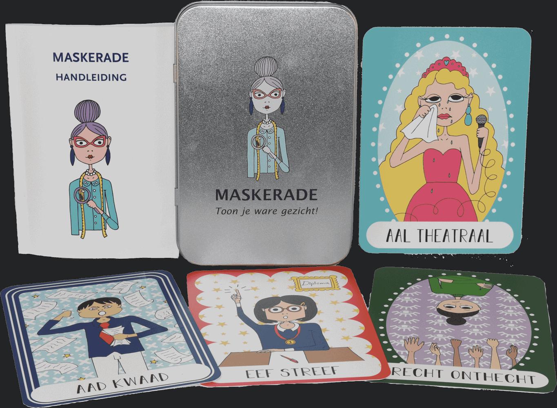 """Archetypisch kaartenspel """"Maskerade"""""""